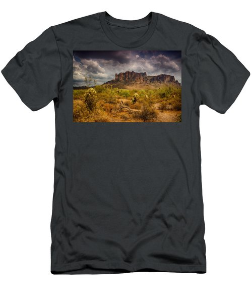 A Day At The Superstitions  Men's T-Shirt (Athletic Fit)