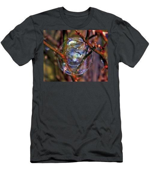 A Delicate Balance Men's T-Shirt (Slim Fit) by Suzanne Stout