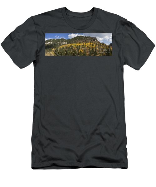 A Falls Day In Spearfish Canyon Of South Dakota Men's T-Shirt (Athletic Fit)