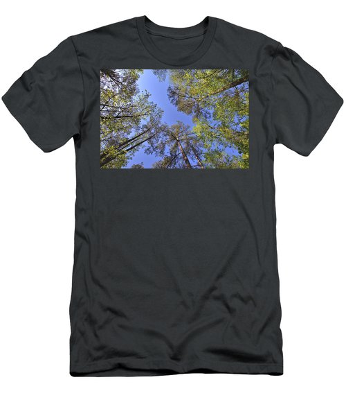 A Forest Sky Men's T-Shirt (Slim Fit) by Gordon Elwell