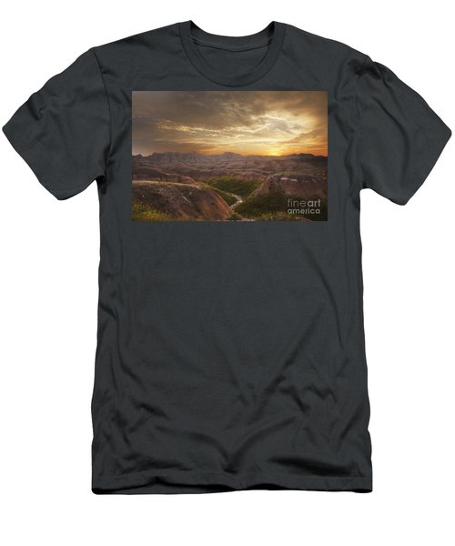 A Good Sunrise In The Badlands Men's T-Shirt (Athletic Fit)