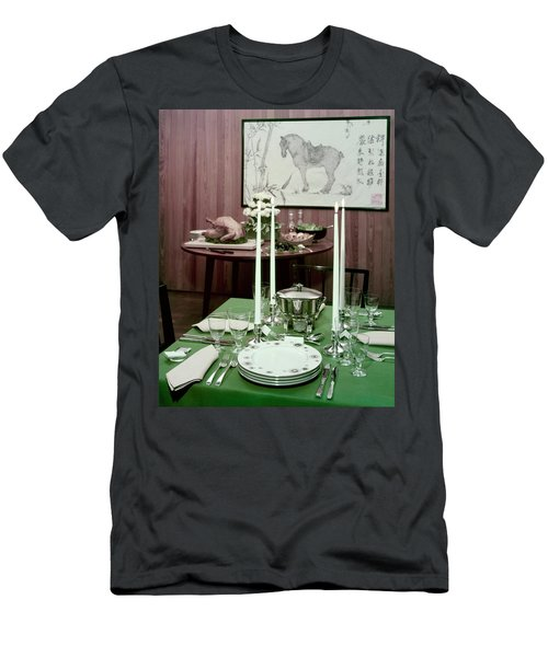 A Green Table Men's T-Shirt (Athletic Fit)