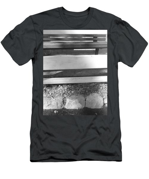 Men's T-Shirt (Slim Fit) featuring the photograph A Layered  Reconstruction by Esther Newman-Cohen