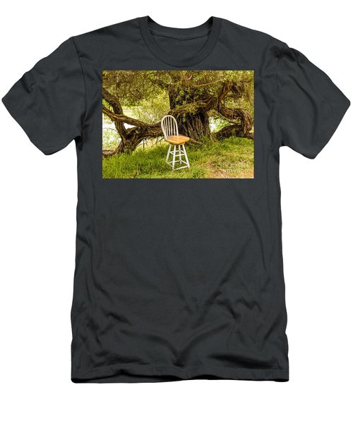 A Little Solitude Men's T-Shirt (Athletic Fit)