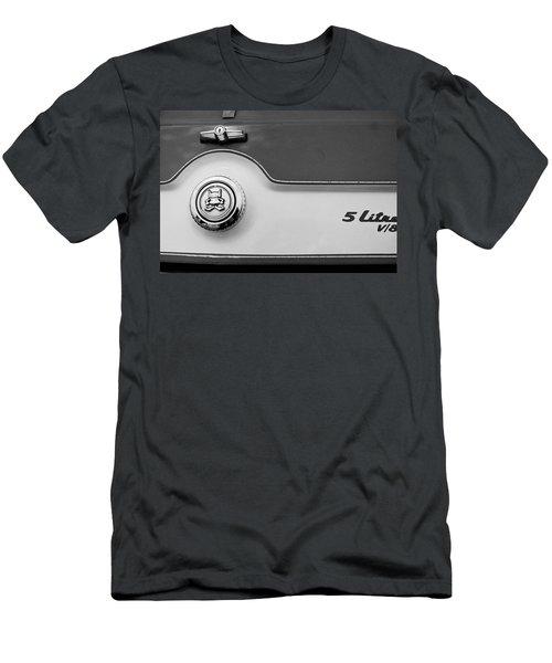 Men's T-Shirt (Slim Fit) featuring the photograph A M C 1972 Gremlin Marque by John Schneider