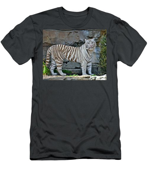 A Magnificent Creature Men's T-Shirt (Slim Fit) by Carol  Bradley