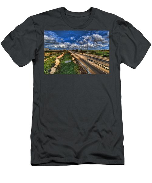 a majestic springtime in Israel Men's T-Shirt (Athletic Fit)