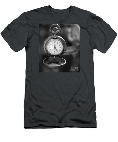 A Moment In Time Men's T-Shirt (Slim Fit) by Nina Silver