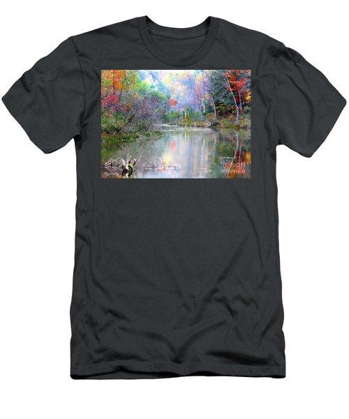 A Monet Autumn Men's T-Shirt (Athletic Fit)
