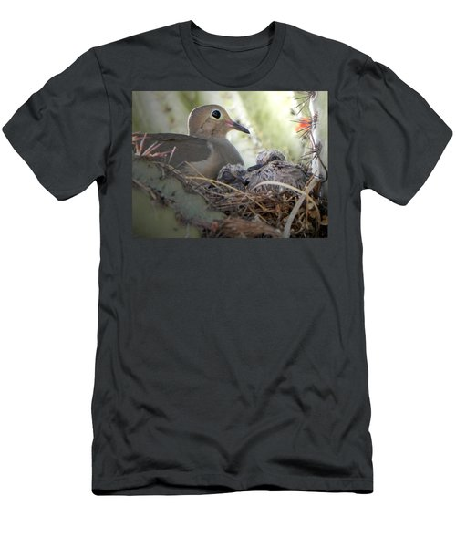 Men's T-Shirt (Slim Fit) featuring the photograph A Mothers' Love by Deb Halloran
