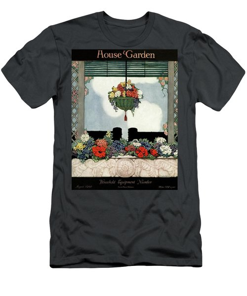 A Neo-classical Marble Window Sill Men's T-Shirt (Athletic Fit)