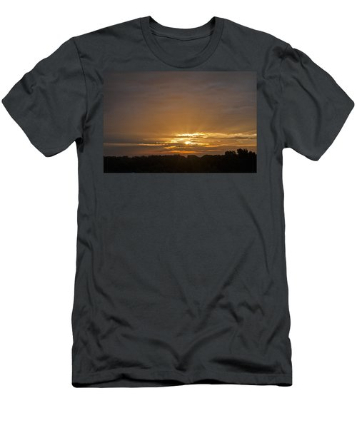 A New Day - Sunrise In Texas Men's T-Shirt (Athletic Fit)