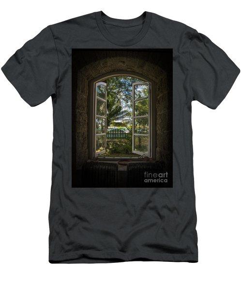 A Paradise Awaits Men's T-Shirt (Athletic Fit)