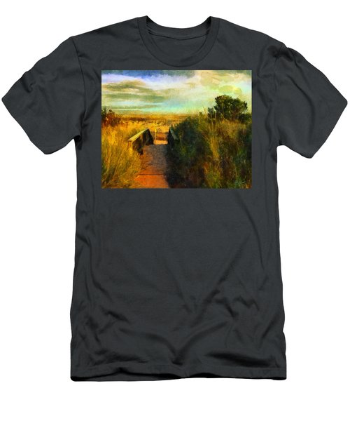 A Path To The Beach Men's T-Shirt (Athletic Fit)