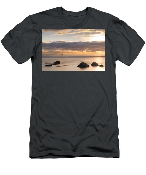 A Peaceful Sunrise Men's T-Shirt (Athletic Fit)