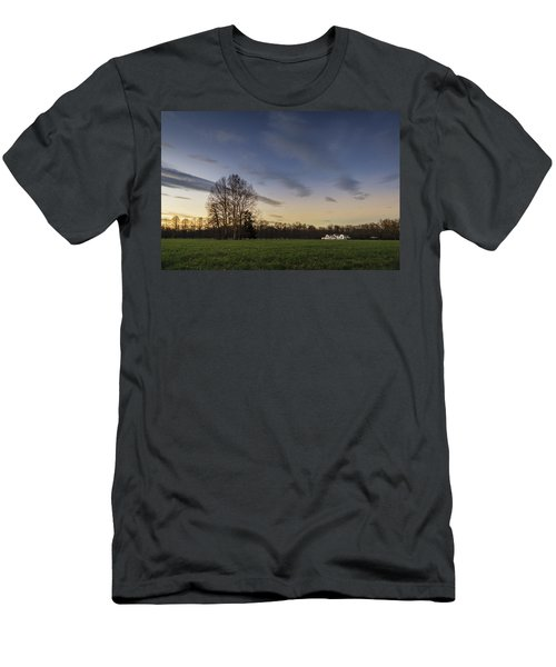 A Peaceful Sunset Men's T-Shirt (Athletic Fit)