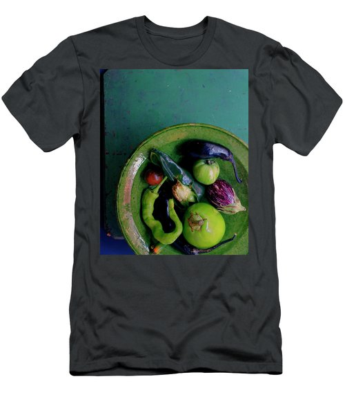 A Plate Of Vegetables Men's T-Shirt (Athletic Fit)