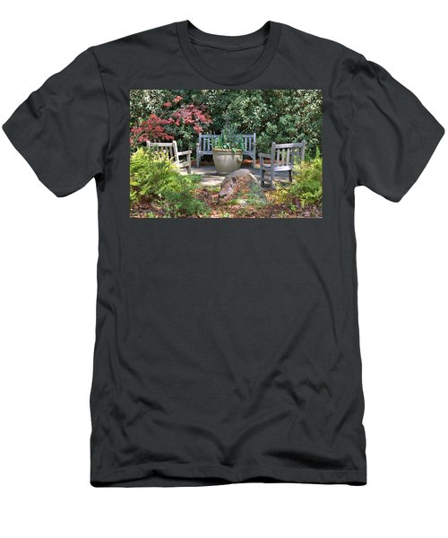 A Quiet Place To Meet Men's T-Shirt (Athletic Fit)