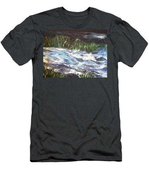 A River Runs Through Men's T-Shirt (Athletic Fit)