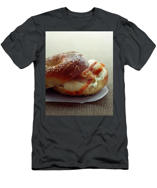 A Sesame Bagel Men's T-Shirt (Athletic Fit)