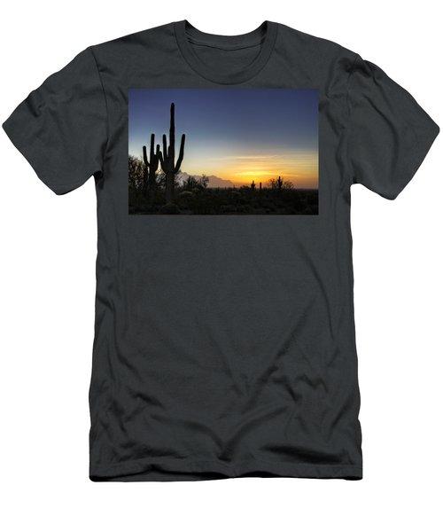 A Sonoran Sunrise  Men's T-Shirt (Athletic Fit)