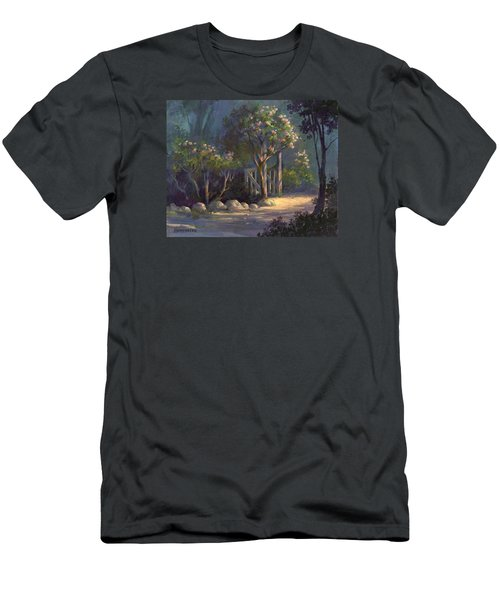 Men's T-Shirt (Slim Fit) featuring the painting A Special Place by Michael Humphries