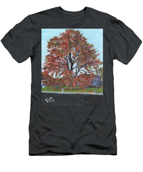 A Tree In Sherborn Men's T-Shirt (Athletic Fit)