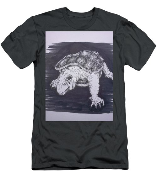 A Turtle Named Puppy Men's T-Shirt (Athletic Fit)