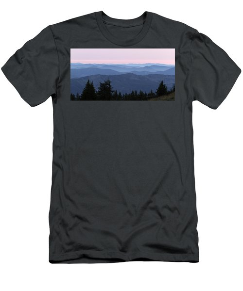 A View From Timberline Men's T-Shirt (Athletic Fit)