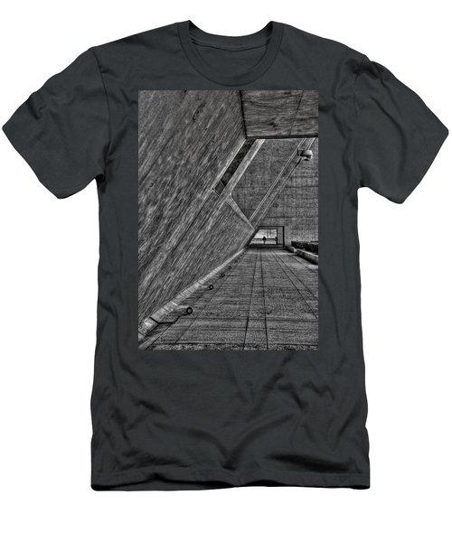 A Visitor Men's T-Shirt (Slim Fit) by Mark Alder