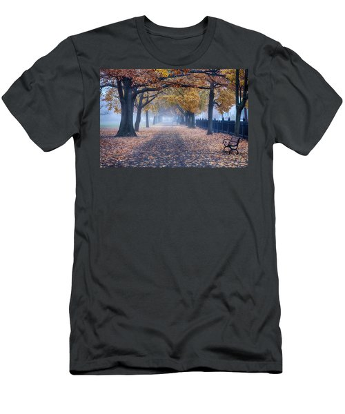 A Walk In Salem Fog Men's T-Shirt (Athletic Fit)