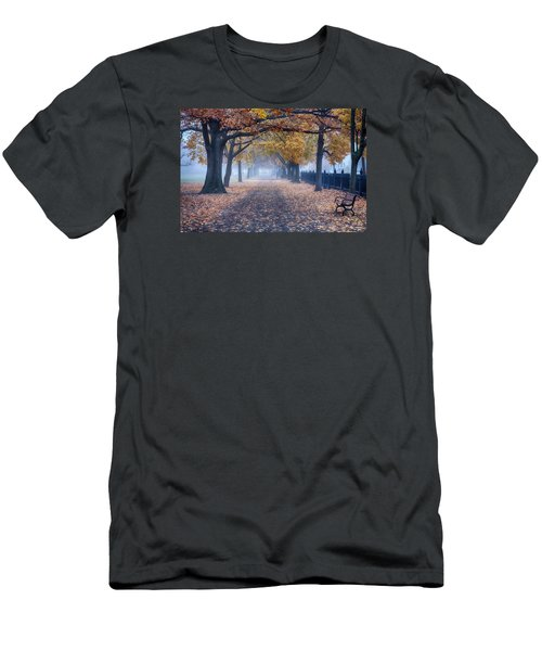 A Walk In Salem Fog Men's T-Shirt (Athletic Fit)