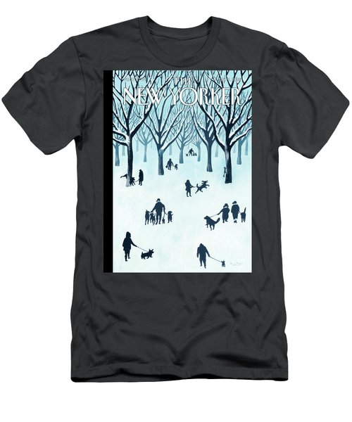 A Walk In The Snow Men's T-Shirt (Athletic Fit)