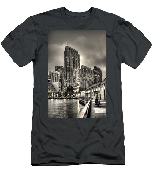 A Walk On The Embarcadero Waterfront Men's T-Shirt (Athletic Fit)