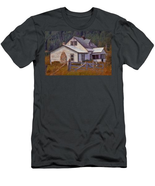 Abandoned Farm House Men's T-Shirt (Athletic Fit)