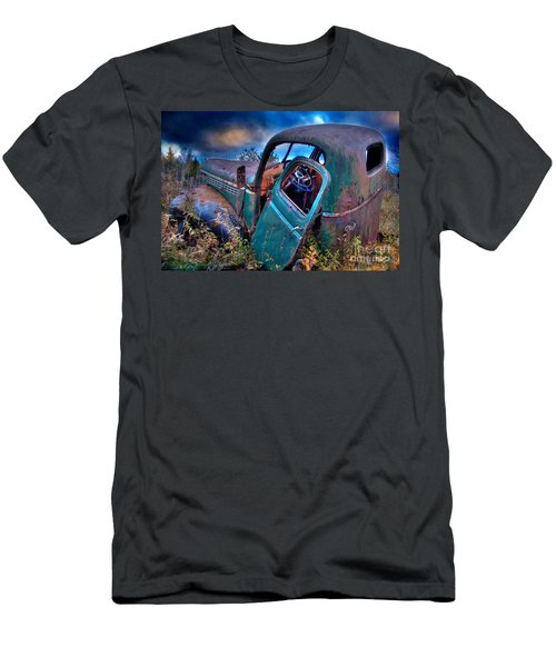 Abandoned II Men's T-Shirt (Slim Fit) by Alana Ranney