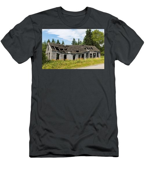 Men's T-Shirt (Athletic Fit) featuring the photograph Abandoned by John M Bailey