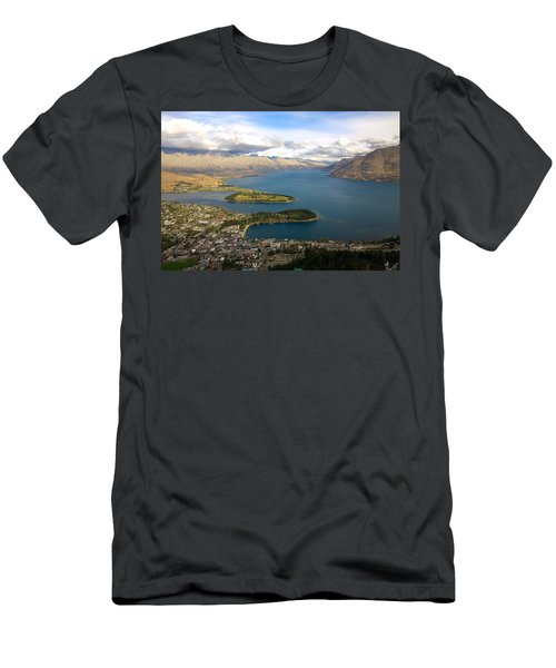 Above Queenstown Men's T-Shirt (Athletic Fit)
