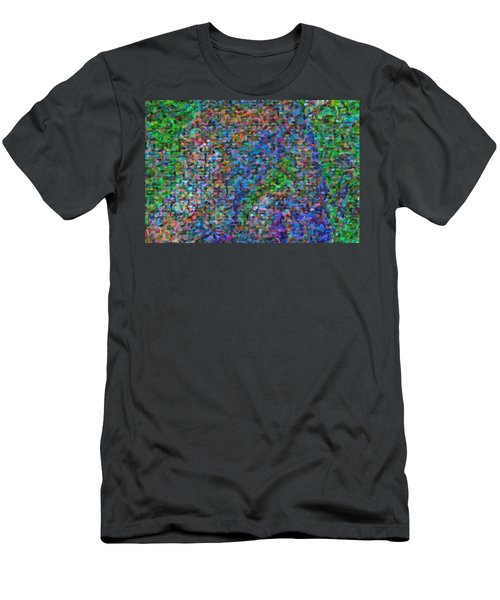 Abstract Colorfull  Art Men's T-Shirt (Athletic Fit)