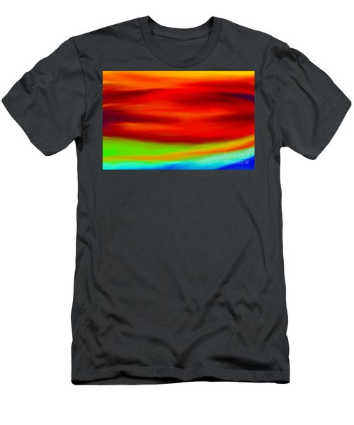 Abstract Colors Men's T-Shirt (Athletic Fit)