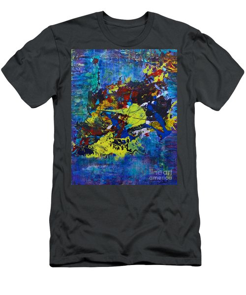 Abstract Fish  Men's T-Shirt (Athletic Fit)
