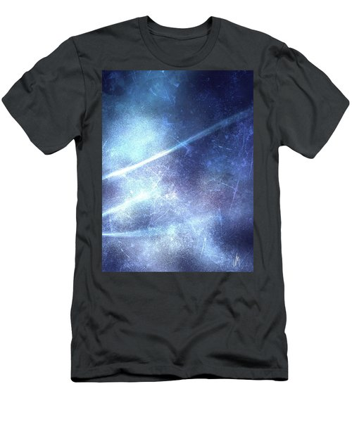 Abstract Frozen Glass Men's T-Shirt (Athletic Fit)