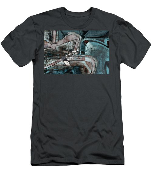 Abstract Graffiti 9 Men's T-Shirt (Athletic Fit)