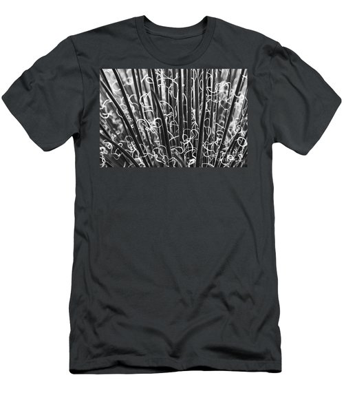 Abstract In Black And White Men's T-Shirt (Athletic Fit)