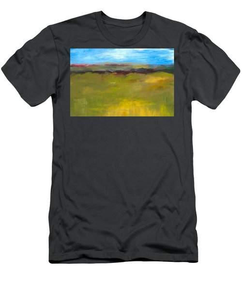 Abstract Landscape - The Highway Series Men's T-Shirt (Athletic Fit)