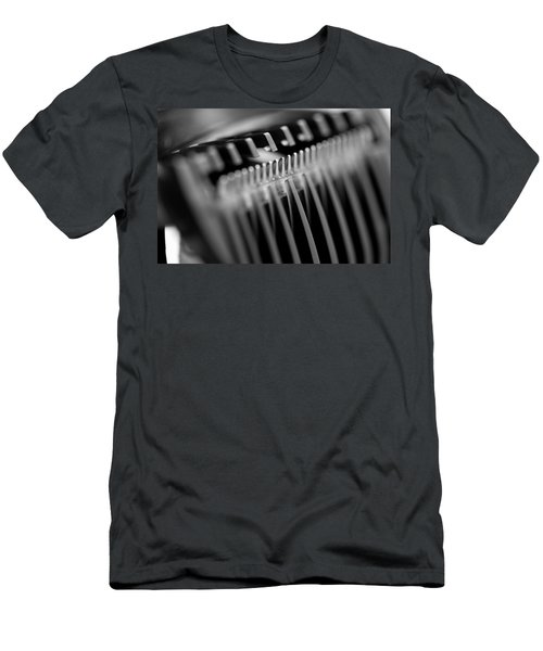 Abstract Razor Men's T-Shirt (Athletic Fit)
