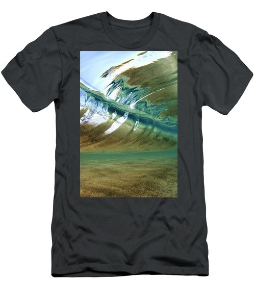 Abstract Underwater 2 Men's T-Shirt (Athletic Fit)