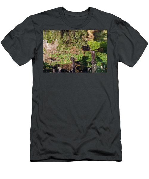 Men's T-Shirt (Slim Fit) featuring the photograph Abstracted Reflection by Kate Brown