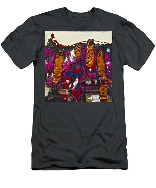Abstracts 14 - The Deep Dark Woods Men's T-Shirt (Athletic Fit)
