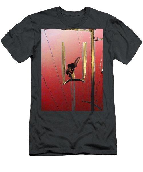 Acrobatic Aerial Artistry1 Men's T-Shirt (Athletic Fit)